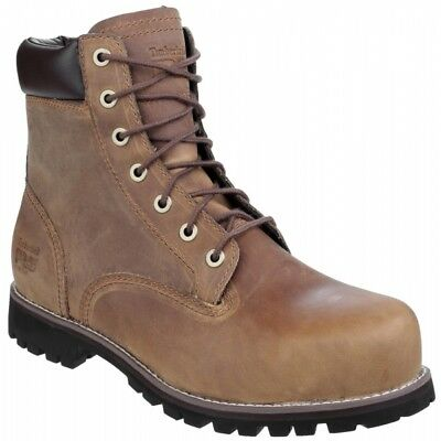 Timberland Pro PRO EAGLE 6201084 S3 Mens Leather Safety Steel Toe Boots Brown
