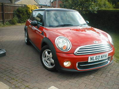 NO RESERVE 60 REG BMW MINI COOPER 1.6ltr DIESEL 6 SPEED MANUAL MASSIVE HISTORY