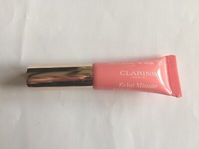 Clarins Instant Light Natural Lip Perfector 01 Rose Shimmer 5ml