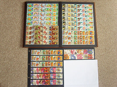 LOT#347k GB GREETINGS STAMPS Multiple Listing 9xDifferent Issues c1989-2005 USED