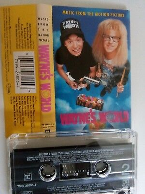 Waynes World - Music From The Motion Picture - Soundtrack - MC - Musikkassette -