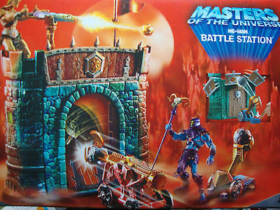 Masters of the Universe He-man Motu Battle Station neu original verpackt