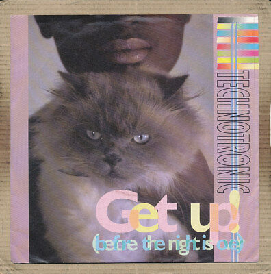 """7"""" Single - Technotronic, Get Up (before the night is over)"""