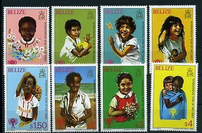 Belize MiNr. 475-82 postfrisch/ MNH Internationales Jahr des Kindes (O4068