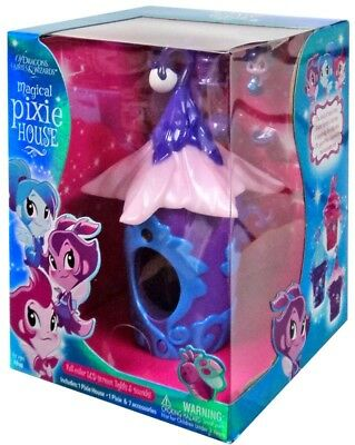 Of Dragons, Fairies & Wizards Purple Magical Pixie House