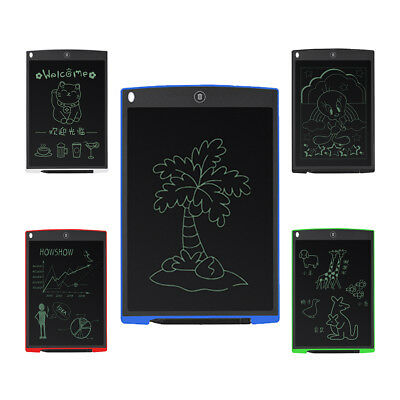 """12"""" LCD Writing Tablet Board Memo Notes Reminder To-Do Graphics Message Pad"""