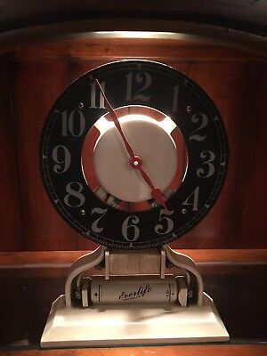 Nice Steampunk Newgate Clock - Everlife Dry Cells Advertising - Battery Operated