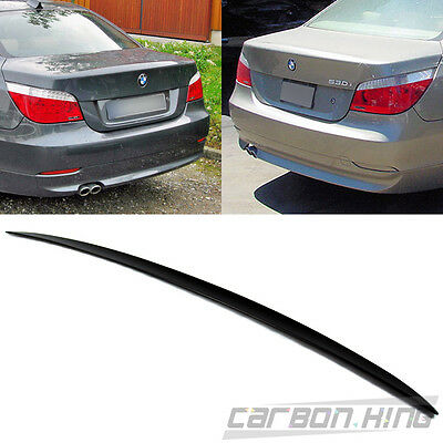 Trunk Spoiler Wing 520i 535i 545i 528 550 M5 04-10 Painted Auto Parts and Vehicles Combo BMW E60 A Roof
