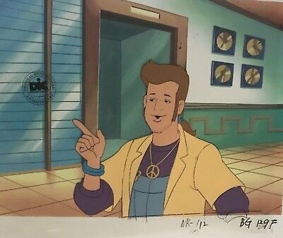 NEW KIDS ON THE BLOCK Original  Animation Production Art Cel DIC ENT SEAL
