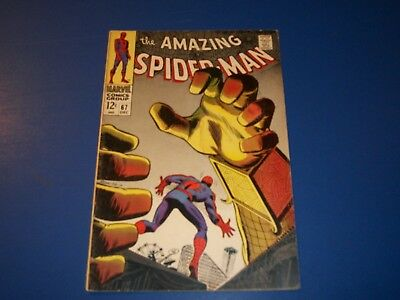 Amazing Spider-man #67 Silver Age Mysterio Great Cover  VG