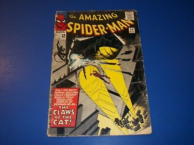 Amazing Spider-man #30 Silver Age Comic Book Great Cover Lower Grade
