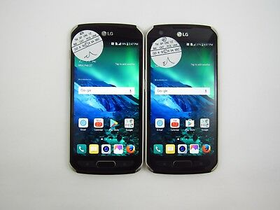 Lot of 2 LG X Venture H700 ATT Check IMEI Grade C 5-179