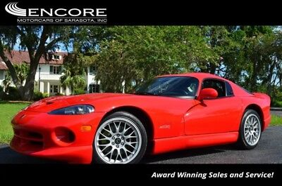 Viper 2dr GTS ACR Coupe W/Competition Package...900 Mile 2001 Dodge Viper 2dr GTS ACR Coupe W/Competition Package...900 Mile 900 Miles Co