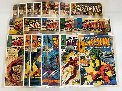 Marvel Daredevil Comic Book Lot Silver and Bronze Age 125+ Issues