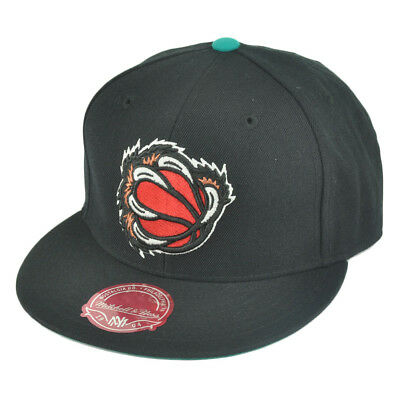 online store 5b6a1 d56d5 NBA Mitchell Ness TK40 Memphis Grizzlies Black Alternate Fitted Hat Cap