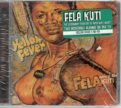 FELA KUTI: THE Legenary Creator of Afro Beat Music, Two Albums in One New CD