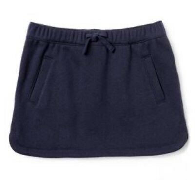NWT Gymboree Jump into Summer Girls Navy Blue Skirt Size S 5 6