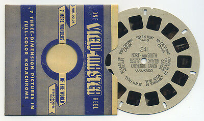 North and South Cheyenne Canon Canyon Colorado early 1940's View-Master Reel 241
