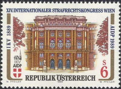 Austria 1989 Law Congress/Palace of Justice/Buildings/Architecture 1v (a1140a)