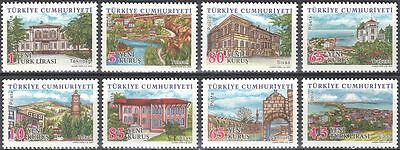 Turkey 2007 Regions/Towns/Buildings/Architecture/Clock Tower 8v set (n44318)