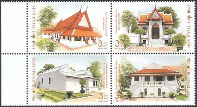 Thailand 2006 Thon Buri Palace/Buildings/Architecture/Heritage 4v blk (n43505)