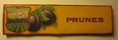 Wholesale Lot of 50 Old Vintage 1920's - PRUNES - Crate LABELS - Stock