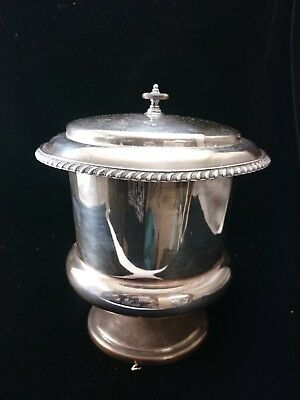 SILVER PLATED Vintage CHAMPAGNE ICE BUCKET Elegant Gourmet Serving Resaurant