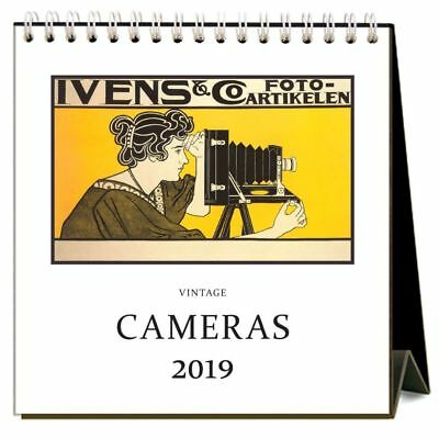 Cameras  Easel Desk Calendar, Architecture | Design by Found Image Press