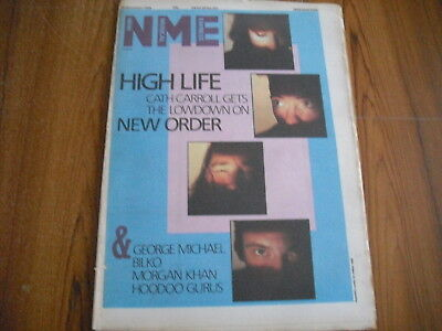 NEW MUSICAL EXPRESS - NOVEMBER 16th 1985 - WHAM, NEW ORDER, SWING OUT SISTER