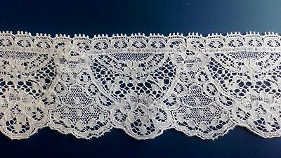 Made In Great Britain Cluny Cotton Lace Edging Pretty Doll Dress Lingerie Crafts