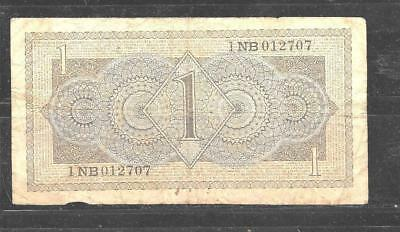Netherlands Dutch #72 1949 Gulden Vg Circ Old Banknote Paper Money  Bill Note