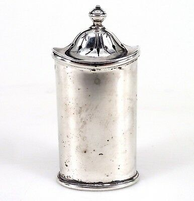 Silver Pepper Pot 1919 Hallmarked Sterling  By Atkin Brothers