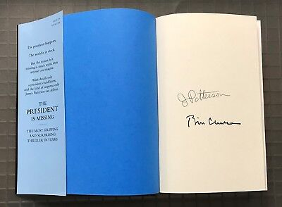 President Bill Clinton & James Patterson Signed Hardcover Book Autographed AUTO