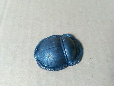 Bronze Egyptian Scarab -  Great Interesting Gift