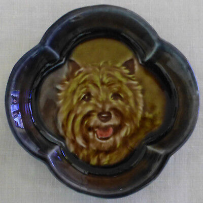 WADE Cameo Dish CAIRN TERRIER 1965