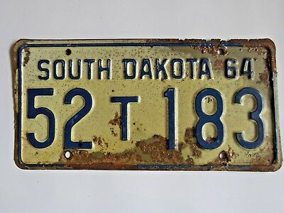 *Pick any one* Vintage South Dakota License Plate Tag *You pick*