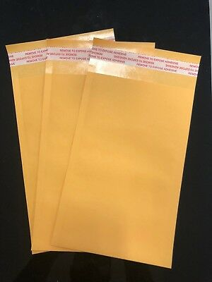 "100 #00 5"" x 10"" Self-Seal Catalog Mailing Shipping Kraft Paper Envelope 28 lb"