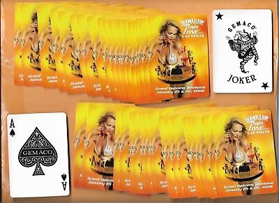 2008 Hawaiian Tropic Zone 52 Card Deck (Bv $25) Las Vegas Grand Opening Weekend