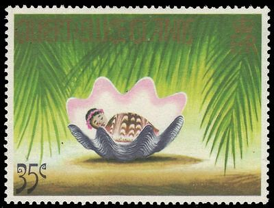 """GILBERT & ELLICE 205 (SG210) - Christmas """"Child in Giant Clam Shell"""" (pf17524)"""