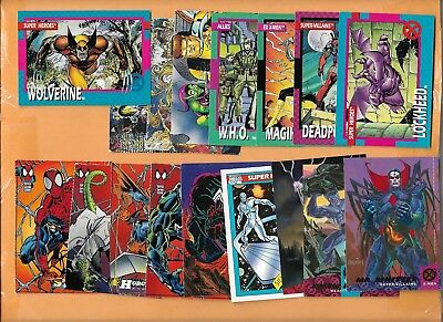 (25) Fleer Skybox Marvel Super Hero Sp Lot ($25) She Hulk Promo X-Men Wolverine