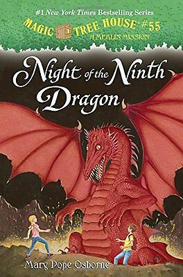 Night of the Ninth Dragon (Magic Tree House (R) Merlin Mission) New Hardcover Bo