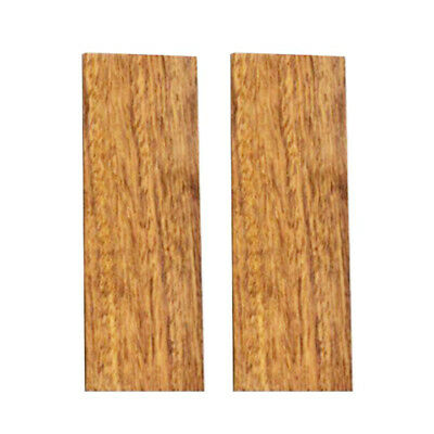 2pcs Knife Handle African Rosewood Wood Material Scale Slabs Tool DIY 120*40*8mm