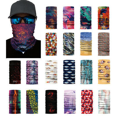 Face Shield Sun Mask Neck Gaiter Balaclava Fishing Scarfs Headwear UV Cycling