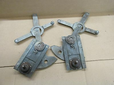 1949 -52 Rear Qtr Coupe Window Regulator  Dodge Desoto Chrysler Mopar Pair