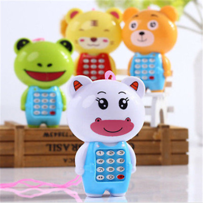 Cute Cartoon Music Phone Baby Toys Educational Learning Toy Phone Kids Baby Gift