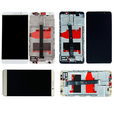 LCD Touch Screen Digitizer Replacement +Frame For Huawei Mate 9 MHA-L29 L09 TL00