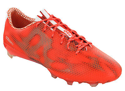 708d0feae261 Adidas F50 Adizero Mens Football Boots FG Champions Red League Moulded UK  6-10.5