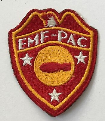 U.S. Marine Corps FMF Pacific Bomb Disposal Co. Shoulder Patch