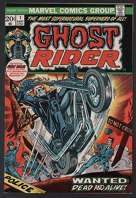 Ghost Rider #1 F- 5.5 Off White Pages