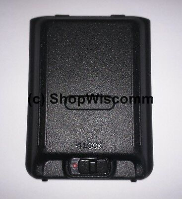 Motorola Solutions EVX-S24 Replacement Black Battery Door CB7190000